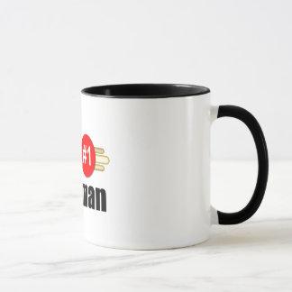 上の郵便配達員 マグカップ