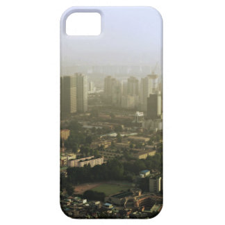 上の都市写真からのソウル iPhone SE/5/5s ケース