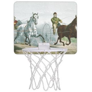 上の馬の詩歌 ミニバスケットボールゴール