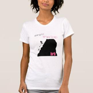 上のbrb tシャツ