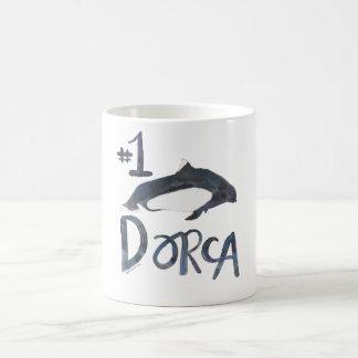 上のDorca コーヒーマグカップ