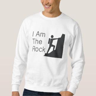 上は石です スウェットシャツ