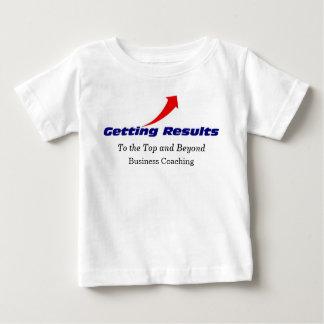 上への得rgb、および向こう、ビジネスコーチ ベビーTシャツ