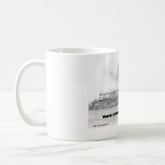上りの大きい男の子4014の記念するコーヒー・マグ コーヒーマグカップ