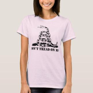 """上りリボルバーは""""私で""""女性Tシャツを踏みません Tシャツ"""