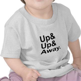 上り及び遠くにな 飛んでいるな刺激の表現の上 ベビーTシャツ