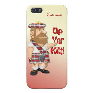上りYerのキルトのユーモア iPhone 5 Case