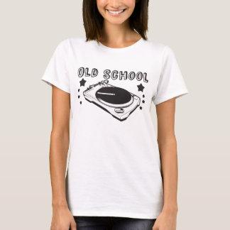 上古い学校の女性 Tシャツ
