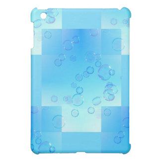上向きに浮かぶ石鹸の泡 iPad MINIカバー