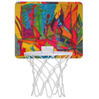 上向きに ミニバスケットボールゴール