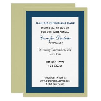 上品で企業のなパーティの招待状 カード