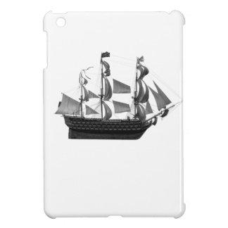 上品で印象的なヴィンテージの古代船 iPad MINIカバー