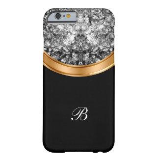 上品で模造のな水晶ビングモノグラム BARELY THERE iPhone 6 ケース