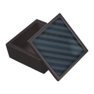 上品で深い濃紺及び灰色-カスタムな箱 ギフトボックス