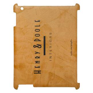 上品で素朴なDanteのオレンジインテリア・デザイナーのiPad iPadカバー