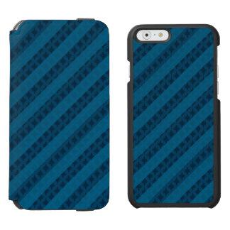 上品で青くカスタムなiPhone 6のウォレットケース Incipio Watson™ iPhone 5 財布型ケース