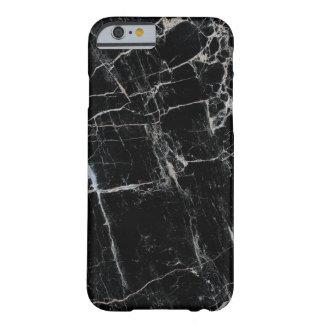 上品で黒い大理石のiPhone6ケースやっとそこに Barely There iPhone 6 ケース