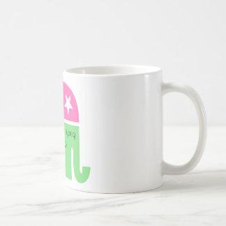 上品で、粋で、若い共和党のコーヒー・マグ コーヒーマグカップ