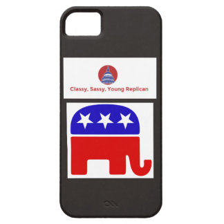 上品で、粋で、若い共和党の電話箱 iPhone SE/5/5s ケース