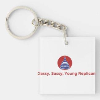 上品で、粋で、若い共和党のKeychain キーホルダー