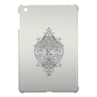 上品で、華美なダイヤモンドのモノグラム iPad MINIカバー