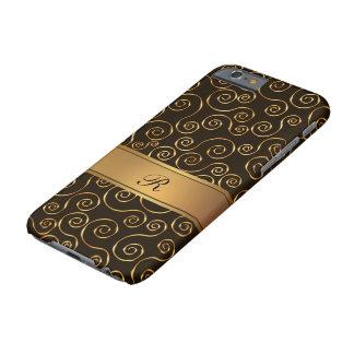上品なモノグラムのダマスク織 BARELY THERE iPhone 6 ケース