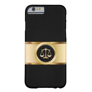 上品な弁護士のテーマ BARELY THERE iPhone 6 ケース