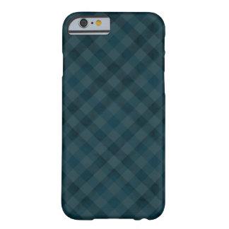 上品な水の格子縞のカスタムのiPhone6ケース Barely There iPhone 6 ケース