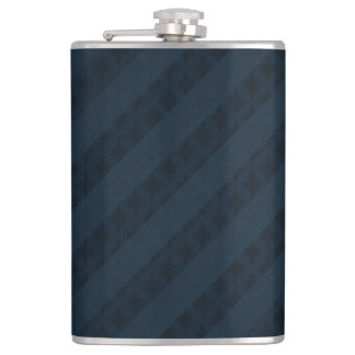 上品な海軍青カスタムなフラスコ フラスク