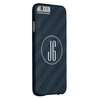 上品な海軍青ストライプなパターン-版2.0 BARELY THERE iPhone 6 ケース