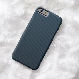上品な濃紺のストライプ-カスタムなiPhone6ケース Barely There iPhone 6 ケース