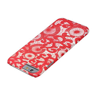 上品な赤いiphoneの箱 barely there iPhone 6 ケース