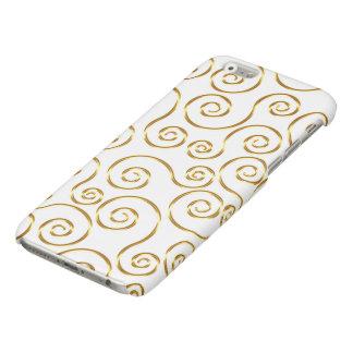 上品な金ゴールドのダマスク織