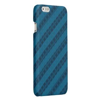 上品な青い縞-カスタムなiPhone6ケース