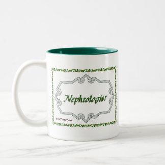 上品なNephrologist - ツートーンマグカップ