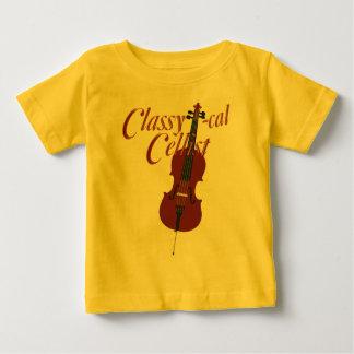 上品calチェロ奏者 ベビーTシャツ