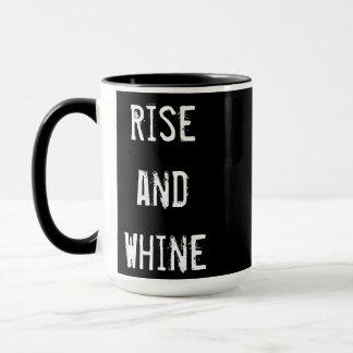 「上昇およびすすり泣き」のコーヒー・マグ マグカップ