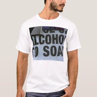 上昇するアルコール Tシャツ