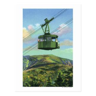 上昇する大砲Mtの市街電車の眺め ポストカード