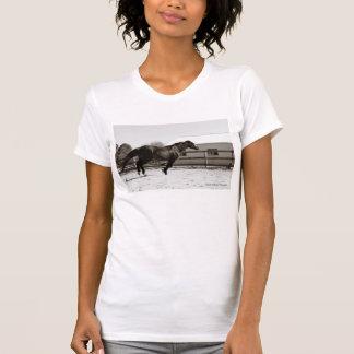 上昇する女性の自由Tシャツ Tシャツ