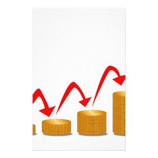 上昇のお金のステップ 便箋