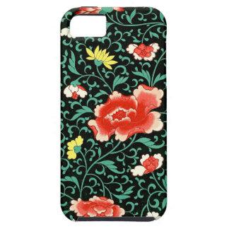 上昇のばら色パターン iPhone SE/5/5s ケース