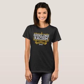 上昇のサイドラインの人種的優越感のTシャツの女性の黒か黄色 Tシャツ