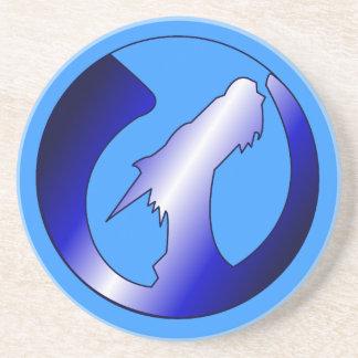 上昇のドラゴンのロゴ コースター
