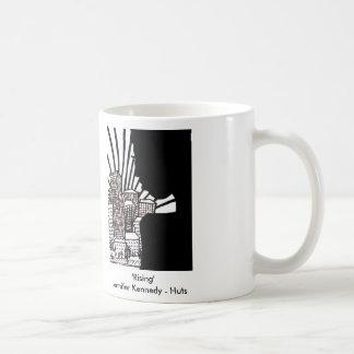 上昇のマグ コーヒーマグカップ
