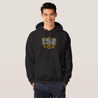 上昇の人の基本的なフード付きのスエットシャツの黒か黄色 パーカ