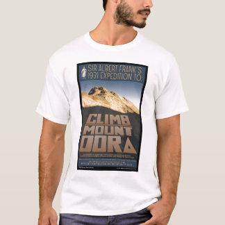 上昇の山のDoraのワイシャツ Tシャツ