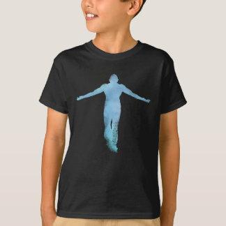 上昇の青 Tシャツ