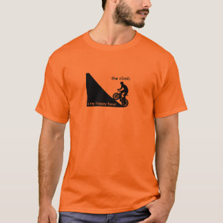 上昇は私の楽しい時間です Tシャツ