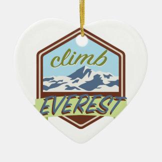 上昇エベレスト セラミックオーナメント